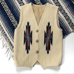 VTG Hand Woven Chimayo Vest by John R. Trujillo